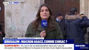 Lapsus sur BFMTV : Une reporter annonce qu'Emmanuel Macron rencontrera Yasser Arafat, mort en 2004