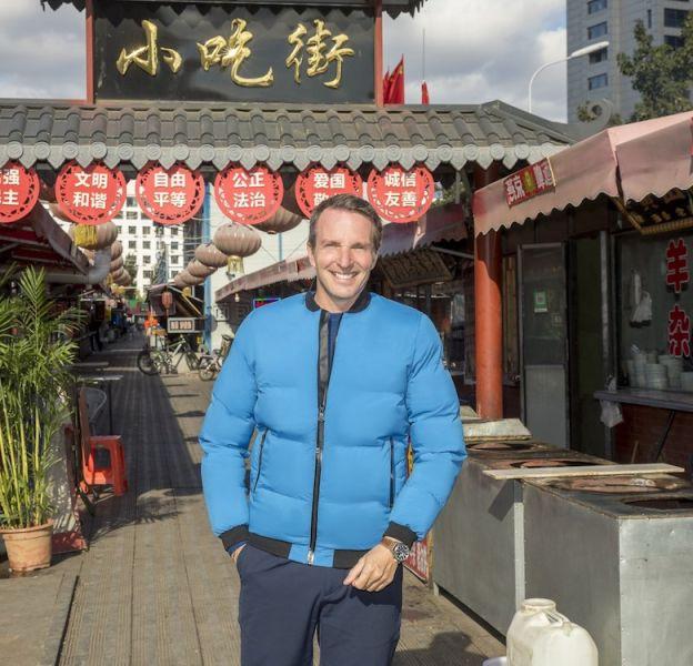 """Stéphane Rotenberg, animateur de """"Pékin Express : Retour sur la route mythique"""""""