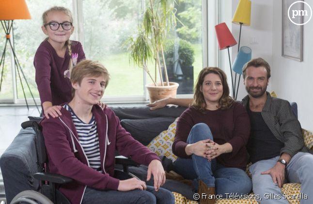 Grégoire Plantade, Colombe Séraphine, Vanessa David et Amaury De Crayencour.