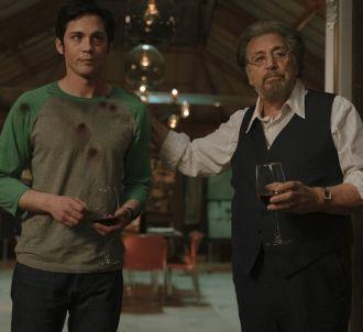 Logan Lerman et Al Pacino dans 'Hunters'