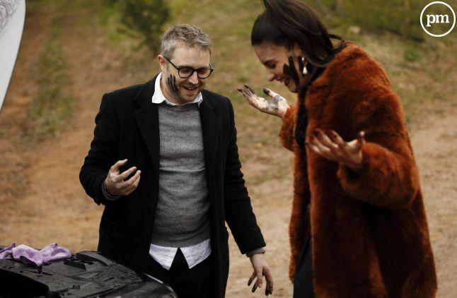 "Eleonore Sarrazin et Thibaud Vaneck dans ""Plus belle la vie"""