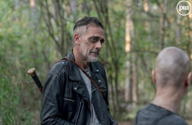 "Jeffrey Dean Morgan dans ""The Walking Dead"""