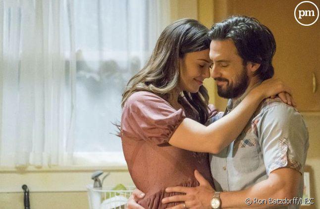 """Mandy Moore et Milo Ventimiglia dans """"This Is Us"""""""