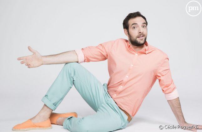 "David Mora, comédien de ""Scènes de ménages"""