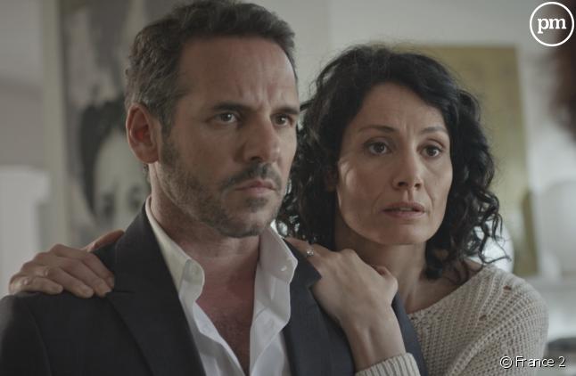 """<p>Jérémy Banster et Maëlle Mietton dans """"Un si grand soleil""""</p> <p></p>"""