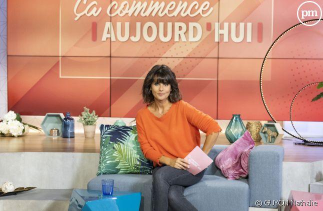 """Faustine Bollaert dans """"Ca commence aujourd'hui"""""""