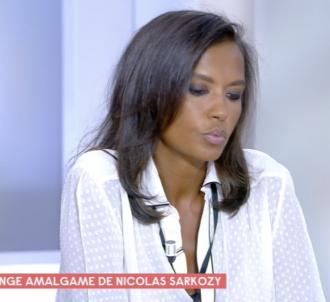 Karine Le Marchand défend Nicolas Sarkozy dans 'C à vous'