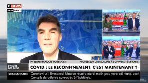"""Deuxième vague : Les analyses contradictoires du """"rassuriste"""" professeur Toussaint dans les médias"""