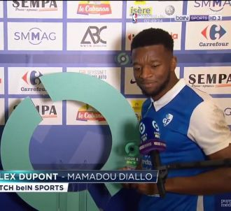 Mamadou Diallo surpris en découvrant la taille de son...
