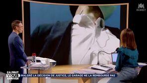"""""""Ce monsieur est fou !"""" : Un garagiste poursuit en direct un envoyé spécial de Julien Courbet sur M6"""