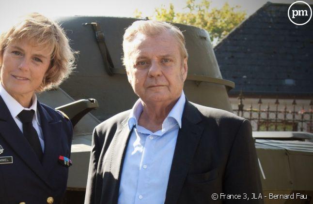 Anne Richard et Jacques Spiesser.