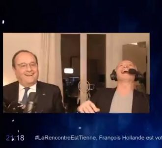 François Hollande sur Twitch