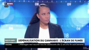 """""""Vous m'étonnez !"""" : Christine Kelly surprise qu'Eric Zemmour soit favorable à la légalisation du cannabis"""