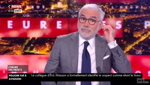 CNews : Se croyant hors antenne, Pascal Praud imite Jacques Chirac