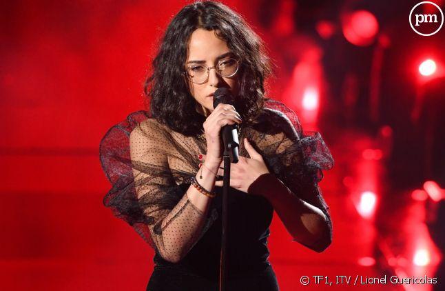 """Marghe, la gagnante de la saison 10 de """"The Voice""""."""