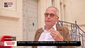 """""""On va peut-être s'arrêter là"""" : Fabrice Luchini très agacé par une remarque d'un journaliste de CNews"""