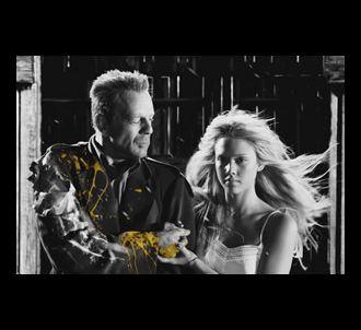 Bruce Willis et Jessica Alba dans 'Sin City'.