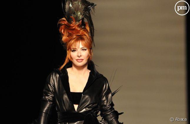 Mylène Farmer défile pour Jean-Paul Gaultier