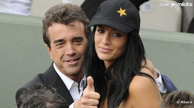 Arnaud Lagardère et sa compagne Jade Forêt