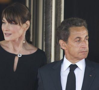 Carla Bruni et Nicolas Sarkozy, en mai 2011
