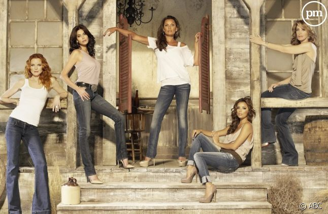 "Le cast de ""Desperate Housewives"" saison 7"