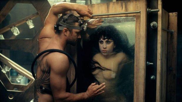 Lady Gaga dans le clip de