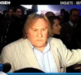 Agacé par une question, Gérard Depardieu insulte une...