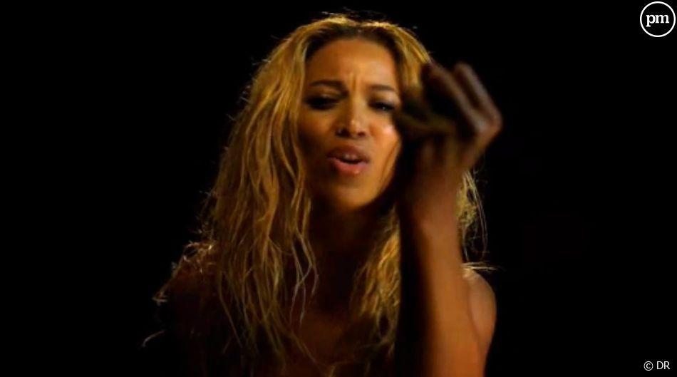 """Beyoncé dans le clip de """"1+1"""""""