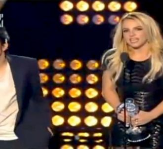 Lady Gaga et Britney Spears lors des MTV Video Music...