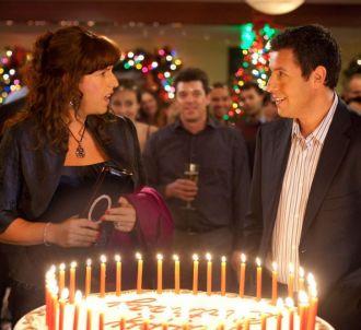 Adam Sandler et Katie Holmes dans le film 'Jack et Julie'...