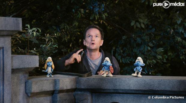 """Neil Patrick Harris dans """"Les Schtroumpfs"""""""