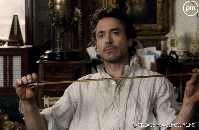 """Robert Downey, Jr. dans """"Sherlock Holmes"""""""