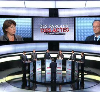 François Hollande et Martine Aubry, grands vainqueurs du...