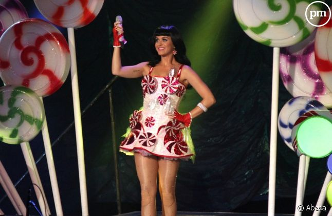 Katy Perry en concert à Mexico (septembre 2011)