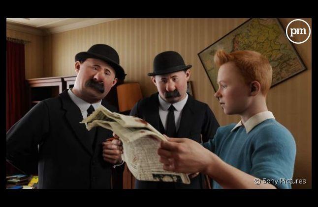 """Le premier volet des """"Aventures de Tintin"""" (2011)."""