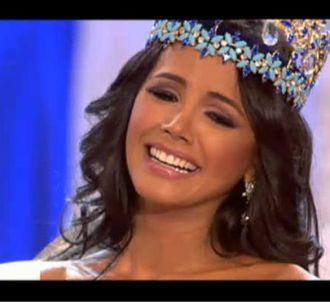 Miss Vénézuela sacrée Miss Monde le 6 novembre 2011 à...
