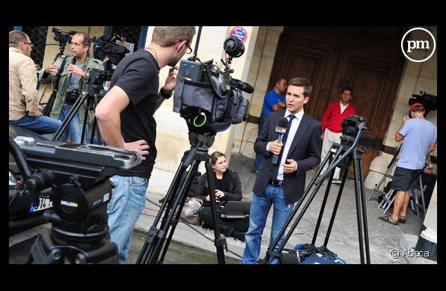 Les journalistes ont campé pendant de longues journée devant le domicile du couple à leur retour de New York.