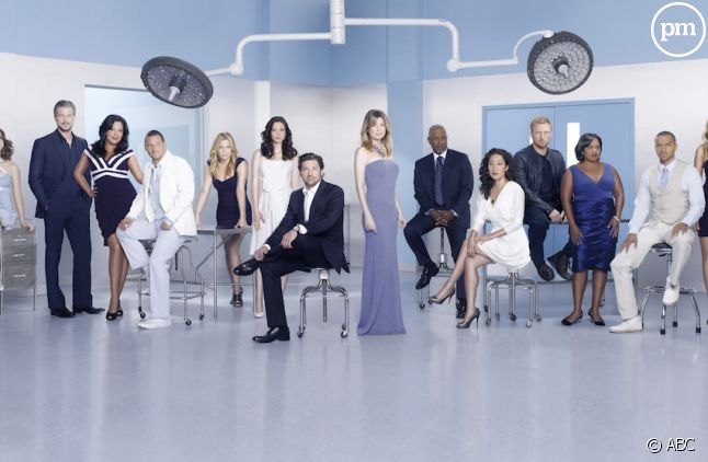 "Le cast de ""Grey's Anatomy"" saison 7"