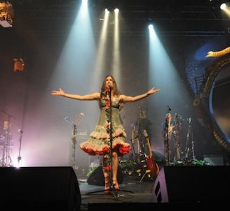 Olivia Ruiz, en concert à Lille dans la salle de...