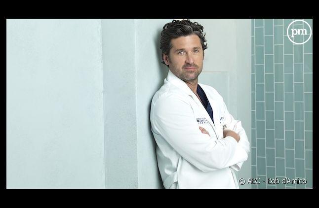 "Patrick Dempsey dans la série ""Grey's Anatomy"""