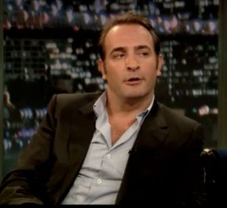 Jean Dujardin fait le chameau dans un talk show américain