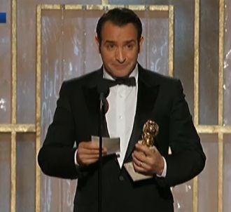 Le discours de Jean Dujardin aux Golden Globes 2012