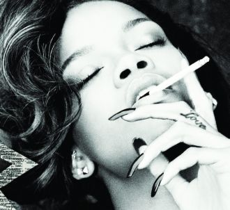 Rihanna sur la pochette du single 'You Da One'