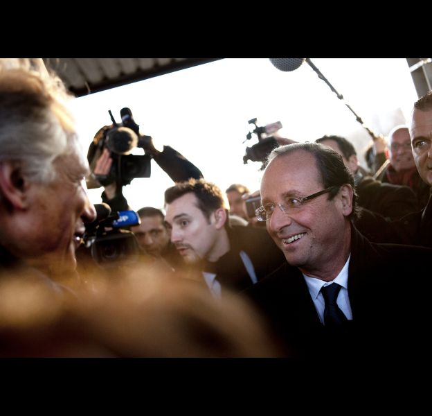 François Hollande, le 6 février 2012.