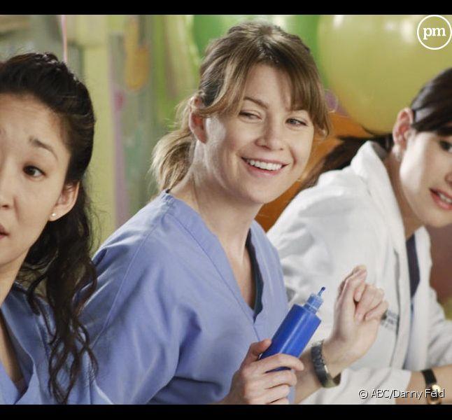 "Sandra Oh, Ellen Pompeo et Chyler Leigh dans ""Grey's Anatomy"""