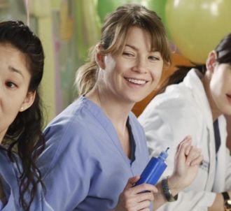 Sandra Oh, Ellen Pompeo et Chyler Leigh dans 'Grey's...
