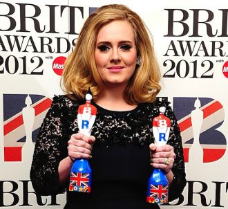 Adele aux Brit Awards 2012