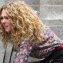 """AnnaSophia Robb sur le tournage de """"The Carrie Diaries"""""""