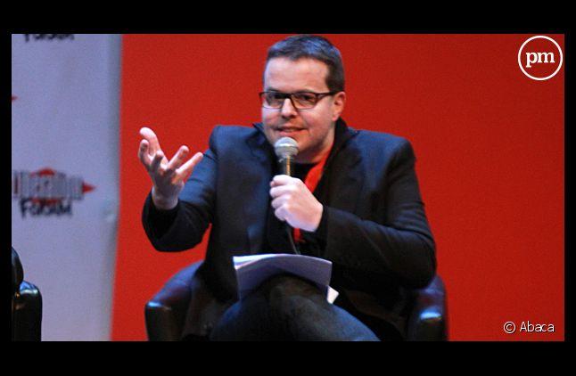 Nicolas Demorand, en février 2012.