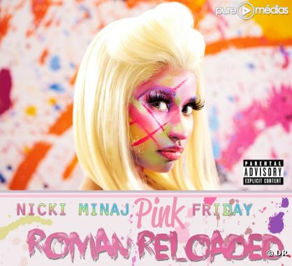 "1. Nicki Minaj - ""Pink Friday: Roman Reloaded"""